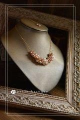 *ailes de pb* バロックーパールデザインネックレス〜baroque luciole B〜 ミックスカラー