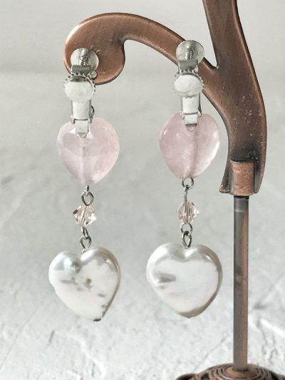 画像3: 【Cute&Lovely】ハート型 淡水真珠ピアス&イヤリング